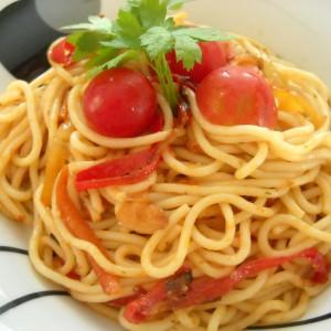 Зеленчукови шпагети