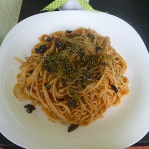 Вегетеријански болоњезе шпагети