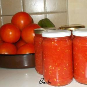 Салата од домати и феферони