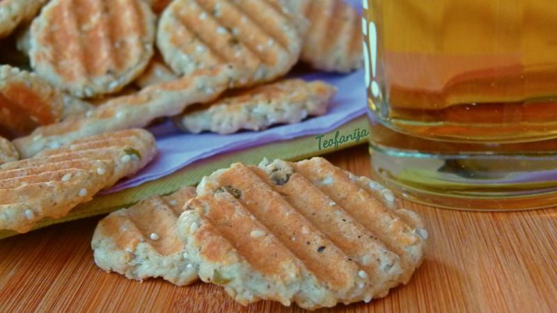 Солени тостерки со семки од тиква
