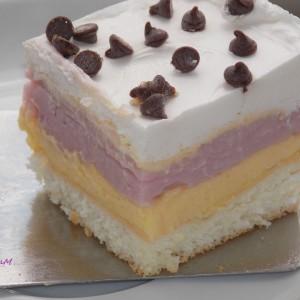 Едноставен тробоен колач