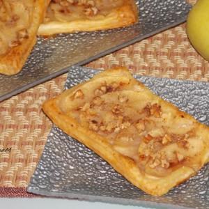 Лиснатици со јаболка и ореви