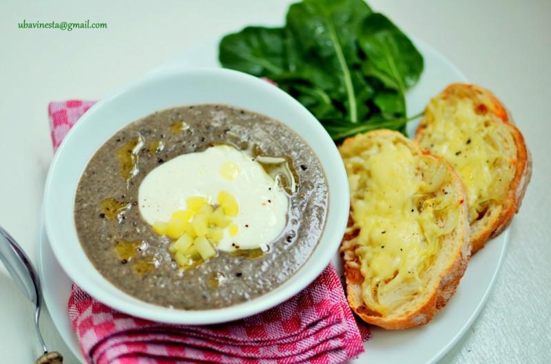 Чорба од печурки и компири