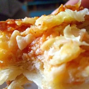 Пица бурек со готови кори и јогурт