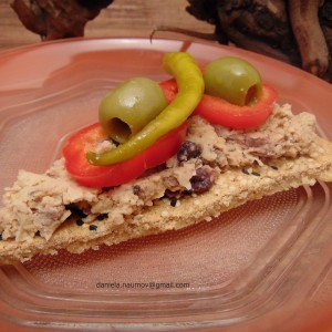 Интегрално тесто за пица со ѓумбир (посно, веган)
