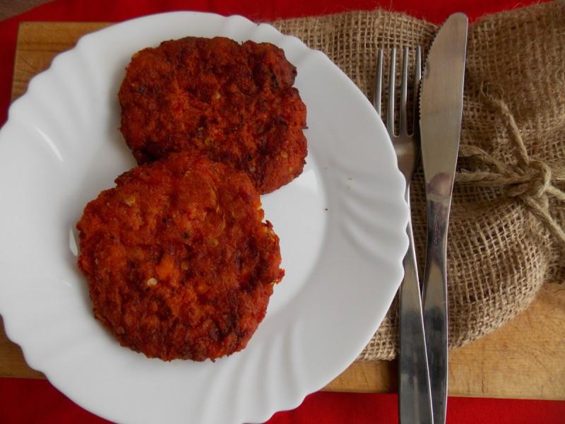 Плескавици од црвени пиперки