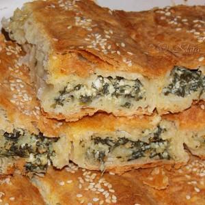 Ролана пита со спанаќ и сирење