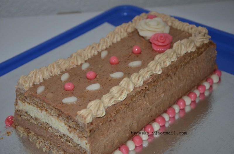 Посна (успенска) торта
