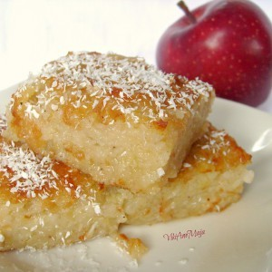 Колач со јаболка и мед