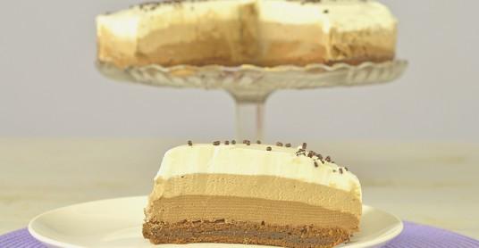 Видео рецепт: Торта со 4 вида чоколадо