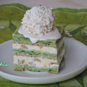 Солена торта со печурки