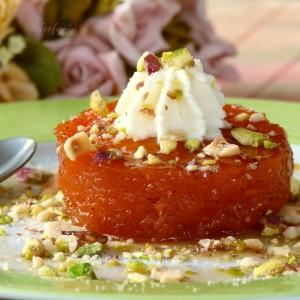 Слатко од тиква со кајмак – турски специјалитет