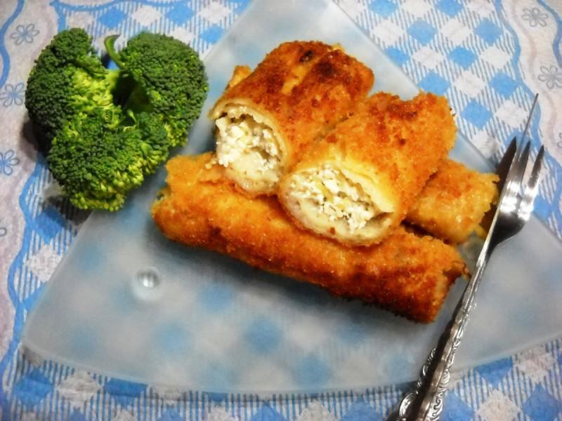 Пирошки со бел фил