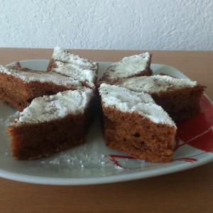 Торта со јаболка и цимет (посно)