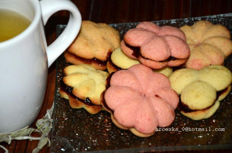Шприц колачи со мармалад