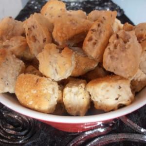 Посни крекери со сусам, сончоглед и ким