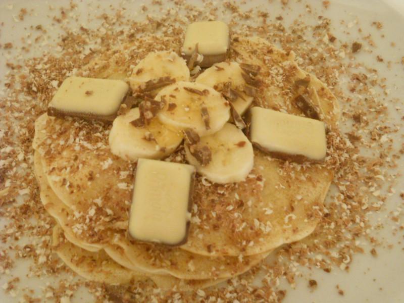 Палачинки со мед и банани