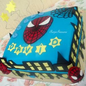 Роденденска торта Spider-Man