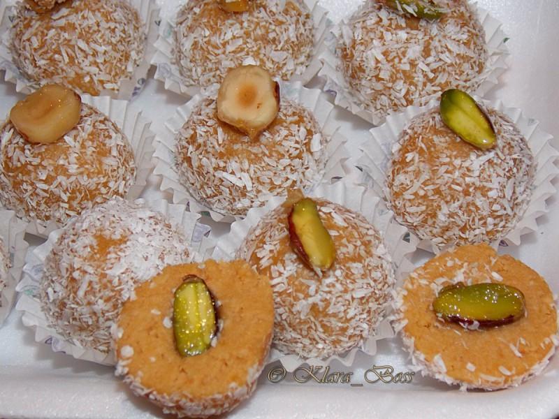 Бомбици од сладок компир-батат