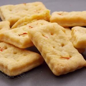 Крекери со шафран