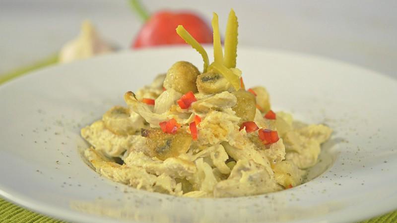 Видео рецепт: Пилешка тава со зеленчук