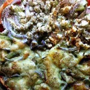 Пица со тиквичка