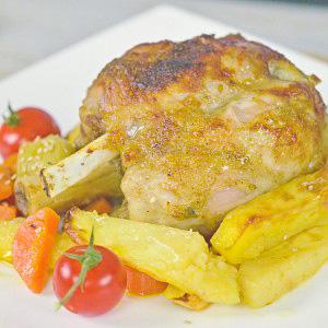 Видео рецепт: Печени свински коленици