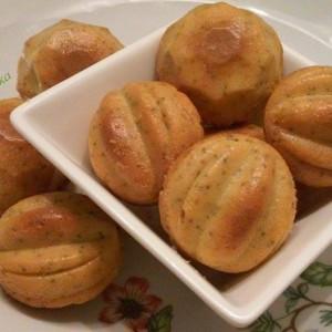Брзи солени мафини (со куркума и афион)