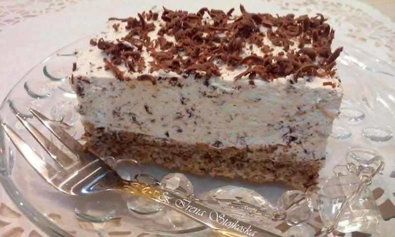 Моја Страчатела торта