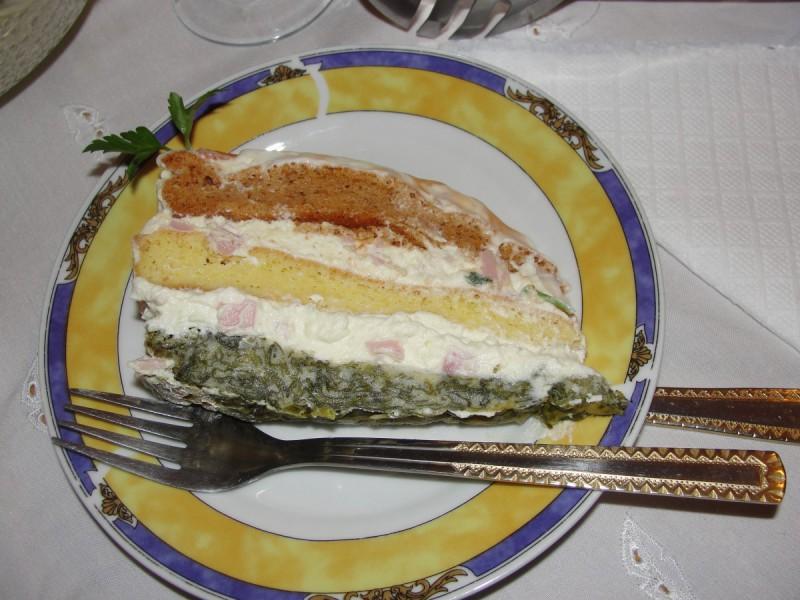 Новогодишна солена торта