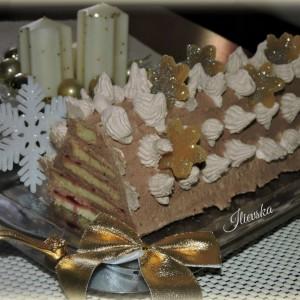 Новогодишна торта-Sterntaler торта со чоколаден крем