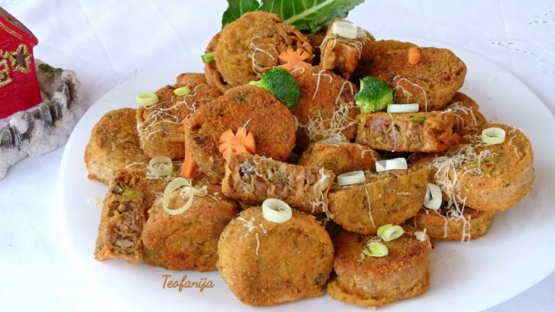 Солена обланда со мелено месо