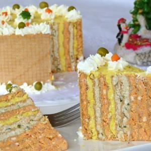 Солена торта од обланди