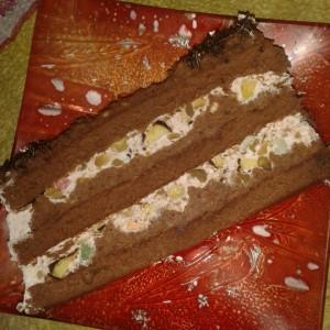 Брза торта со готови кори и желе (без печење)