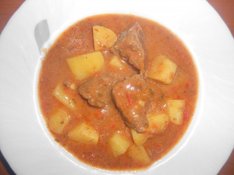 Манџа со телешко месо