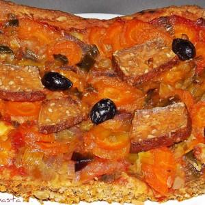 Интегрална, брза, посна пица