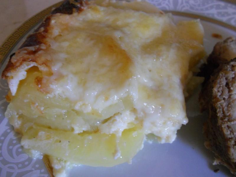 Гратинирани компири