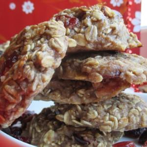 Овошни колачиња со овесни снегулки