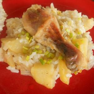 Ориз со кинеска зелка