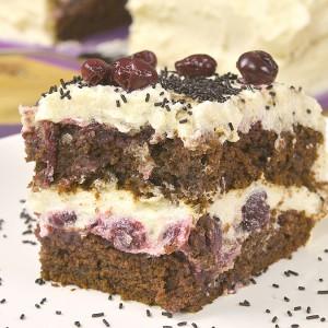 Видео рецепт: Посна Шварцвалд торта