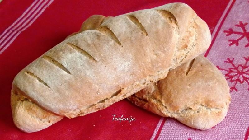 Домашен ржан леб со маслиново масло