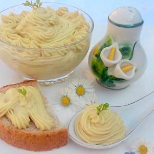 Посен мајонез со брашно од соја