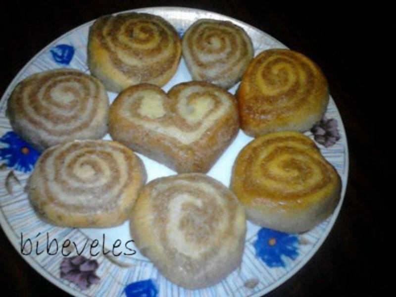 Двобојни колачи со шербет
