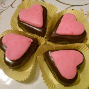 Брзи чоколадни срциња (без печење)