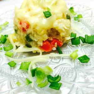 Кинески ориз со пилешко и зеленчук