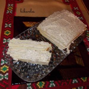 Солена торта со сусам