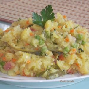 Ручек со компир и друг мешан зеленчук