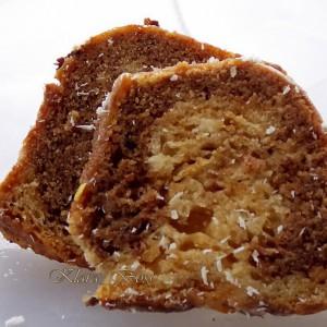 Мермерен колач со газоза (посно)