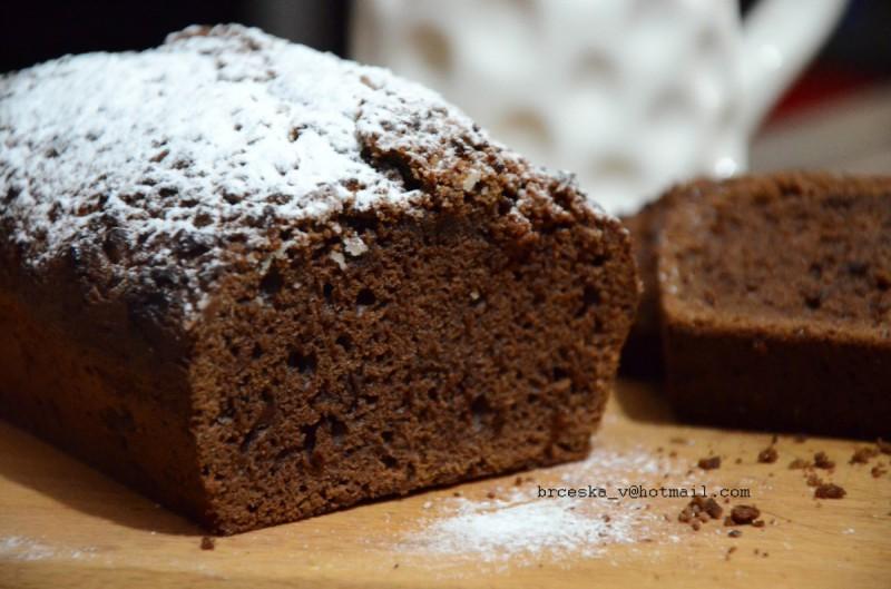 Млечно-чоколаден кекс