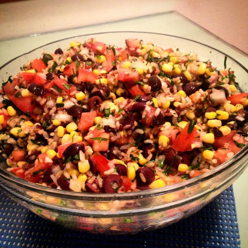 Мексиканска салата (посно)